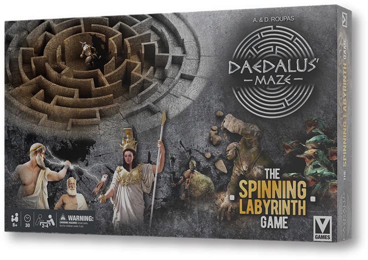 DAEDALUS MAZE The Spinning Labyrinth game