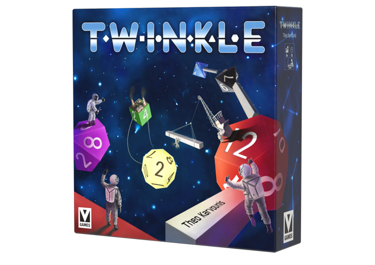 Twinkle, the boundless universe comes to your table as you construct your own constellation.