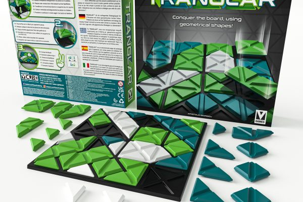 TRANGLARTM is an abstract strategy game